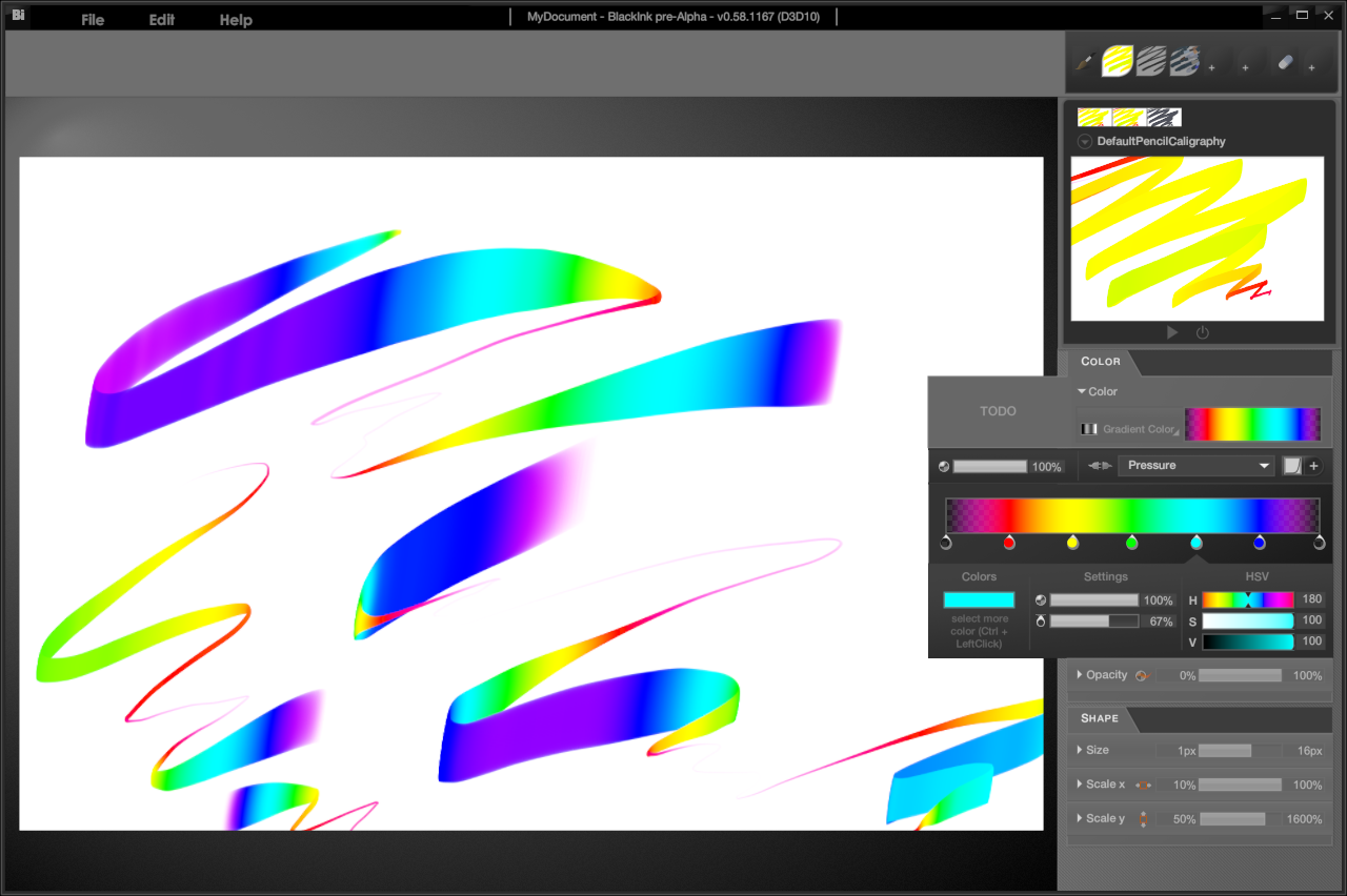 BlackInk New Drawing Software