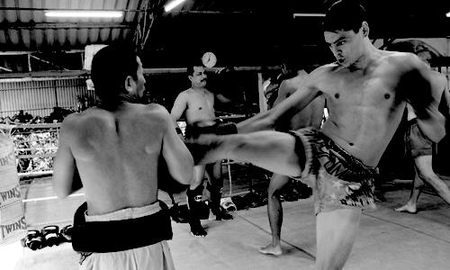 Muay Thai Kicks -- Muay Thai Phuket