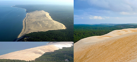 La Dune du Pyla Aerial View -- Holiday Rental Bordeaux