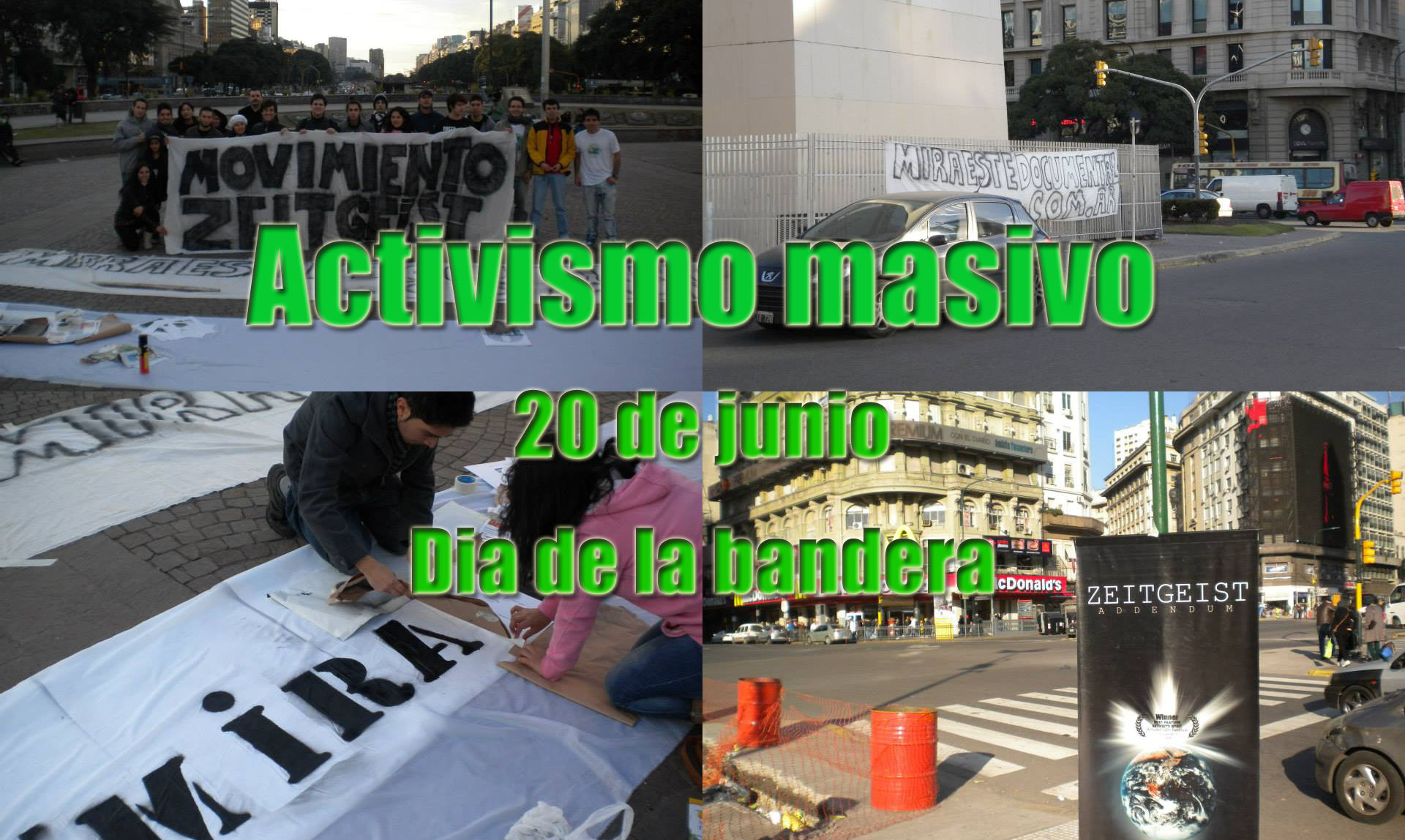 Activismo Obelisco