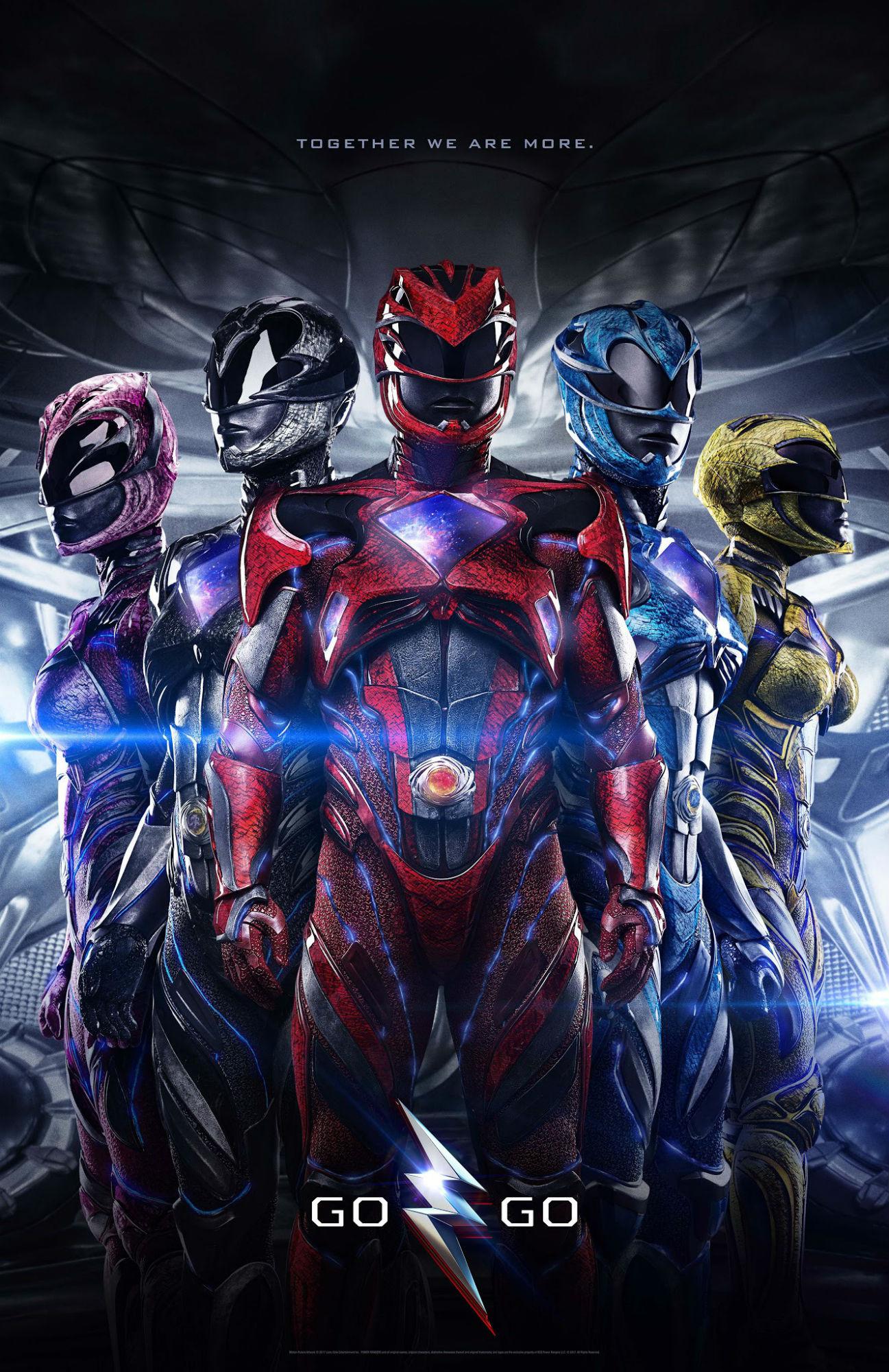 Power Rangers Assemble for New International Poster