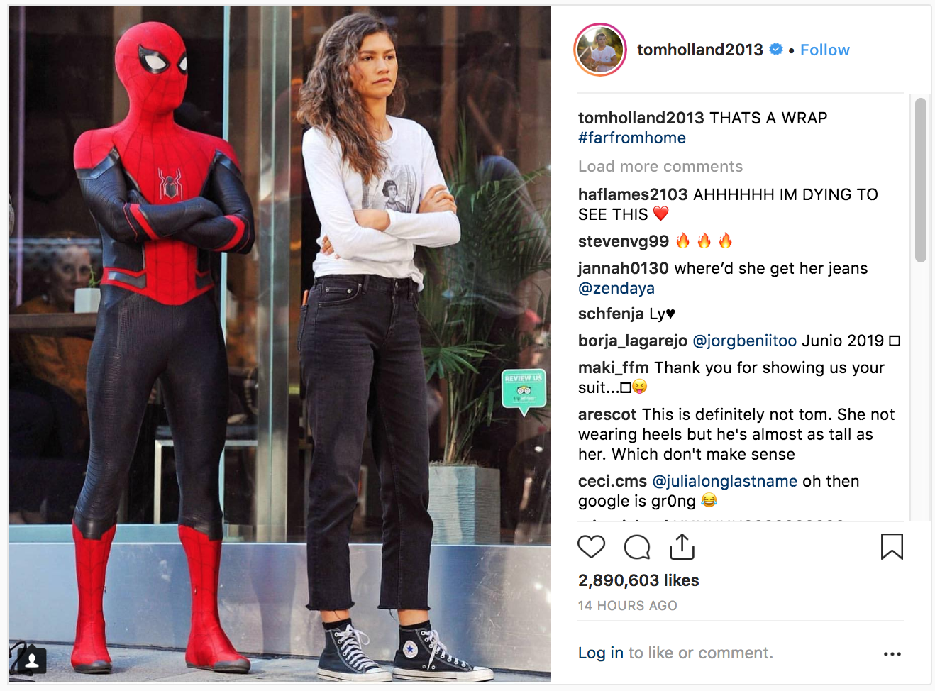 Tom Holland Announces Spider-Man: Far From Home Filming Wrap With Look at New Suit