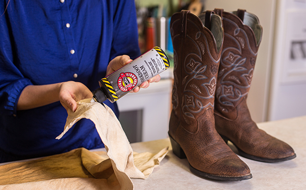 How to clean boots: Workboot cream