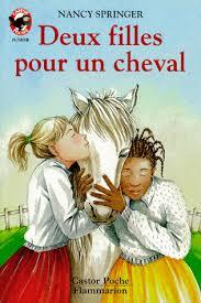 Book cover for Deux filles pour un cheval