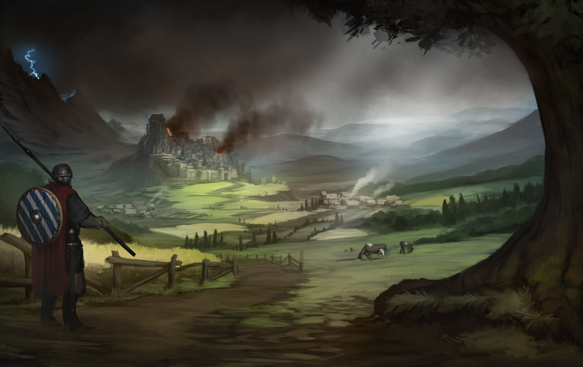 main menue background illustration