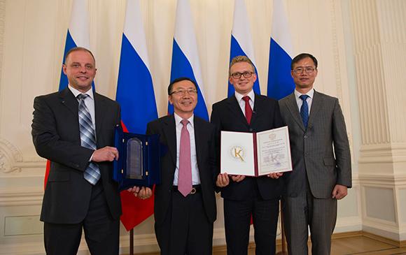 Завод компании Hyundai Motor получил премию Правительства Российской Федерации в области качества
