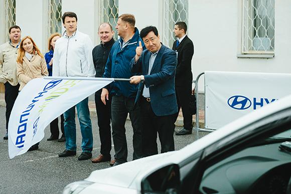 Специальный эко-заезд Hyundai Solaris прошел в эти выходные в СКК «Петербургский»