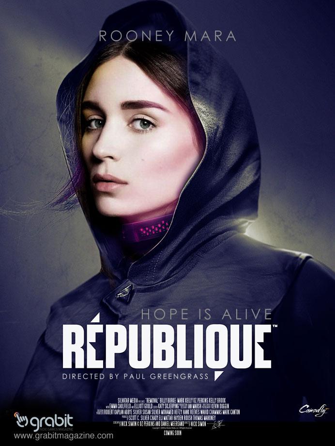 Republique Grab It Indie Games Magazine movie poster