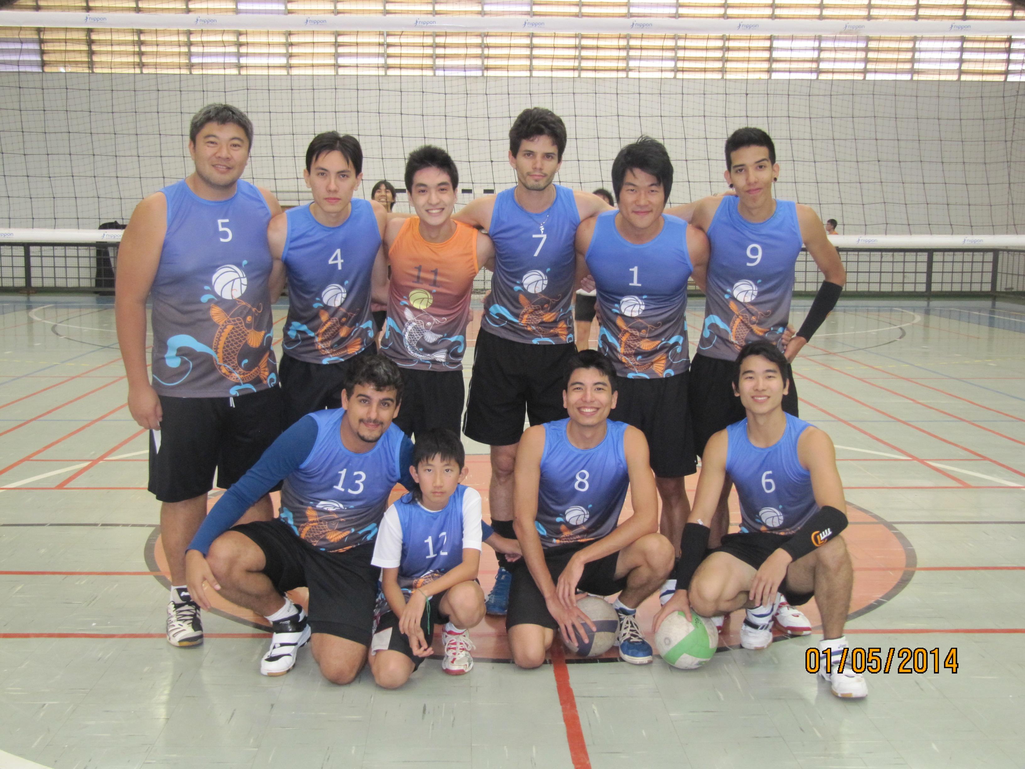 Time Haikyu Voleibol Masculino