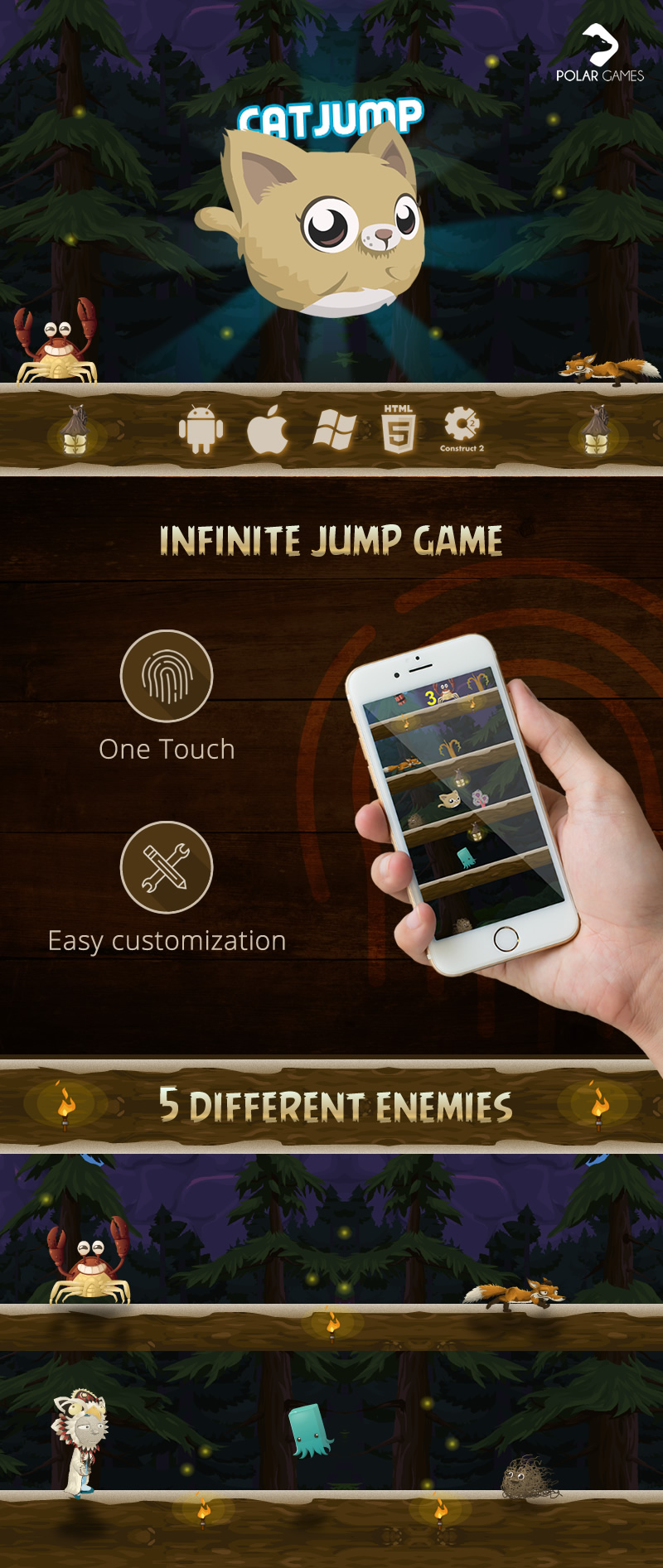 Mobile Game Html5 Jump