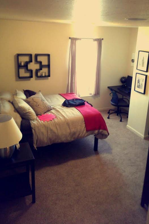 Furnished Bedroom | Miami University Furnished Apartments