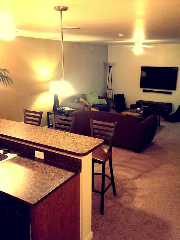 Furnished Living Area | Furnished Apartments in Oxford Ohio