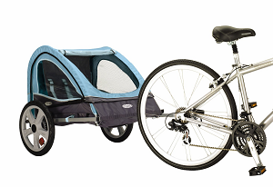 Kids Bike Trailer  Bicycle Child Carrier Fold Away Two Person2 sm.png