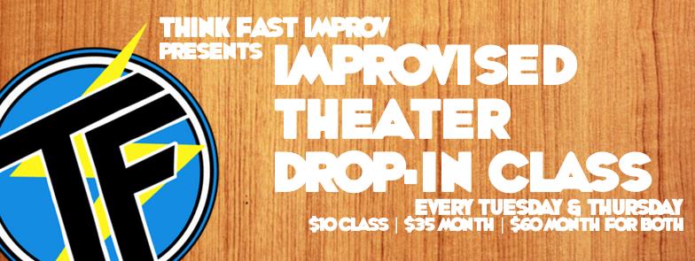 Improvised Theater Drop-In Classes @ The Art Loft | Honolulu | Hawaii | United States