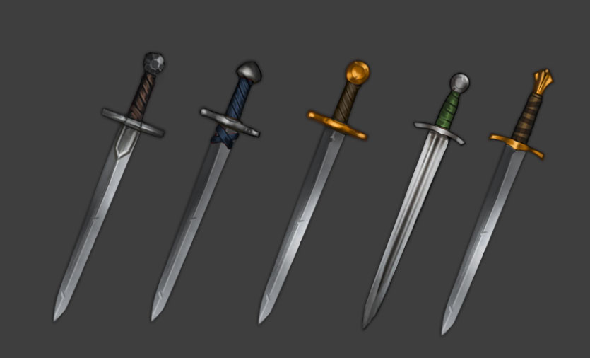 Named Noble Swords
