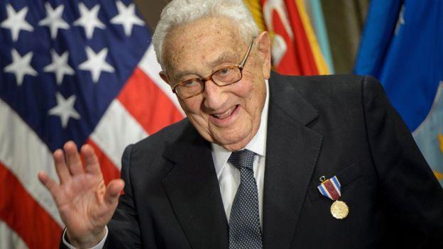 លោក Henry Kissinger ទៅសួរសុខទុក្ខលោក ដូណាល់ ត្រាំ