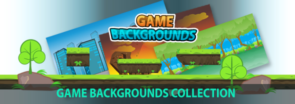 Platformer Game Background 18 (Backgrounds)