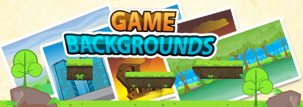 Platform Game Backgrounds 08 (Backgrounds)