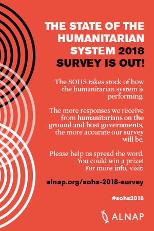 New ALNAP State of the System Survey