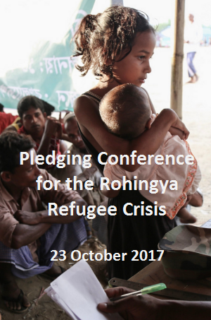 Pledging Conference for the Rohingya Refugee Crisis