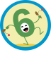 Silly Sixes Badge Icon