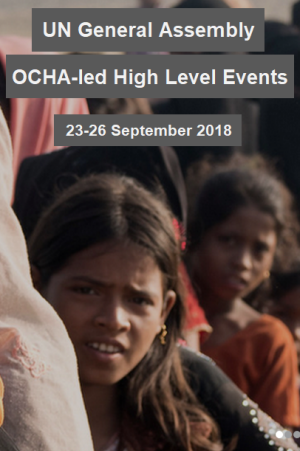 OCHA-led UN GA events