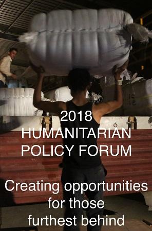 2018 Humanitarian Policy Forum
