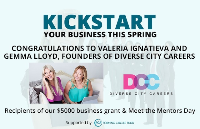 Cangratulations to the recipients of the Kickstart Your Business grant