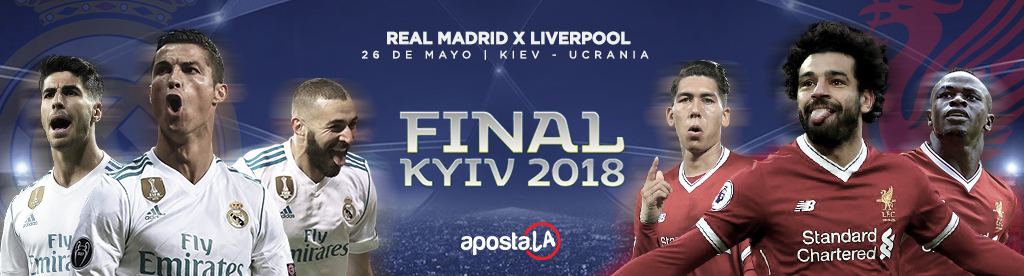Final Champions League - Real Madrid x Liverpool