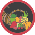 Give Thanks Badge Icon