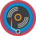 Record Collector Badge Icon