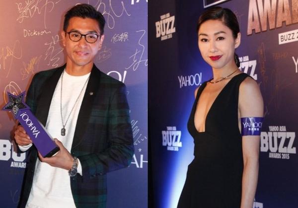 Ruco Chan និងNancy Wu ឈ្នះពានរង្វាន់់ Yahoo Buzz នៅអាស៊ី