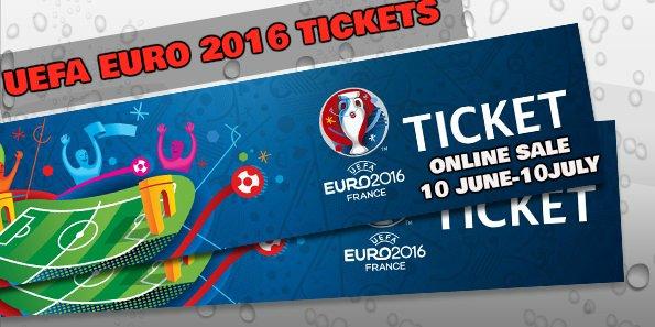 ៥ថ្ងៃទៀត សំបុត្រសម្រាប់ទស្សនាបាល់ទាត់ Euro 2016 នឹងដាក់លក់ជាផ្លូវការ