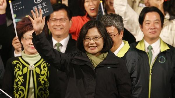 តៃវ៉ាន់៖ លោកស្រី Tsai Ing-wen ឈ្នះឆ្នោតក្លាយជាប្រធានាធិបតីស្រ្តីទីមួយក្នុងប្រទេស