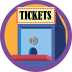 Double Feature Badge Icon