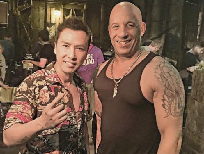 កុំកុំផ្លាស់ប្តូរឪពុកម្តាយជាមួយតារាសម្តែងអាមេរិក Vin Diesel