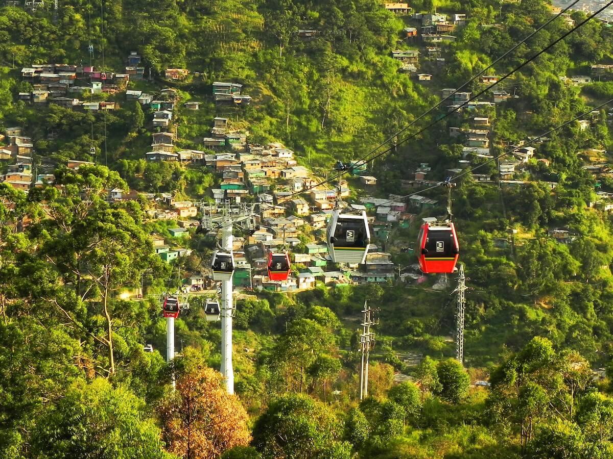 Innovative Cable Car Medellín