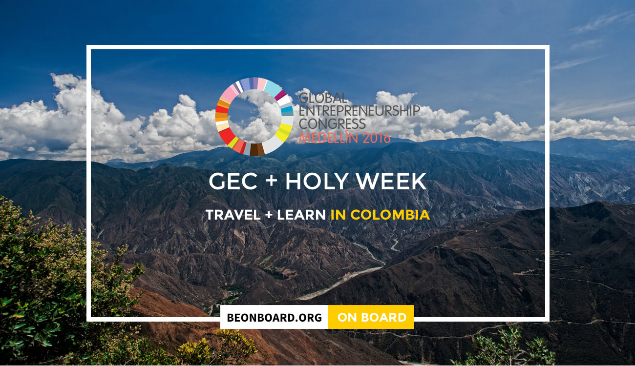 ON BOARD Learning journey at Holy Week after GEC 2016