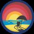 Crazy Eights Badge Icon