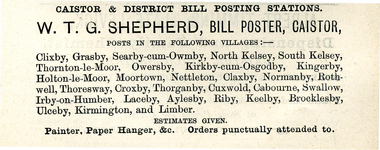Advert 1892 W T G Shepherd.jpg