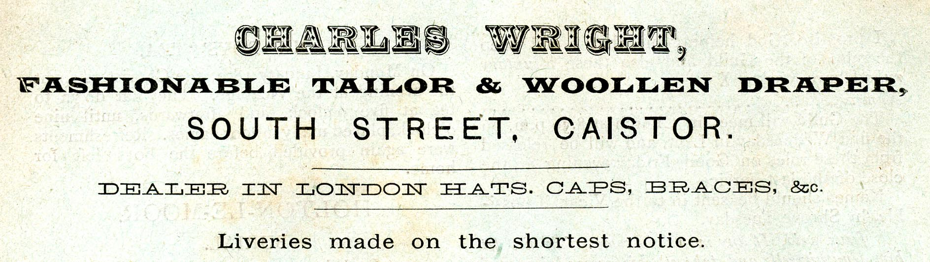 Advert 1904 Charles Wright.jpg