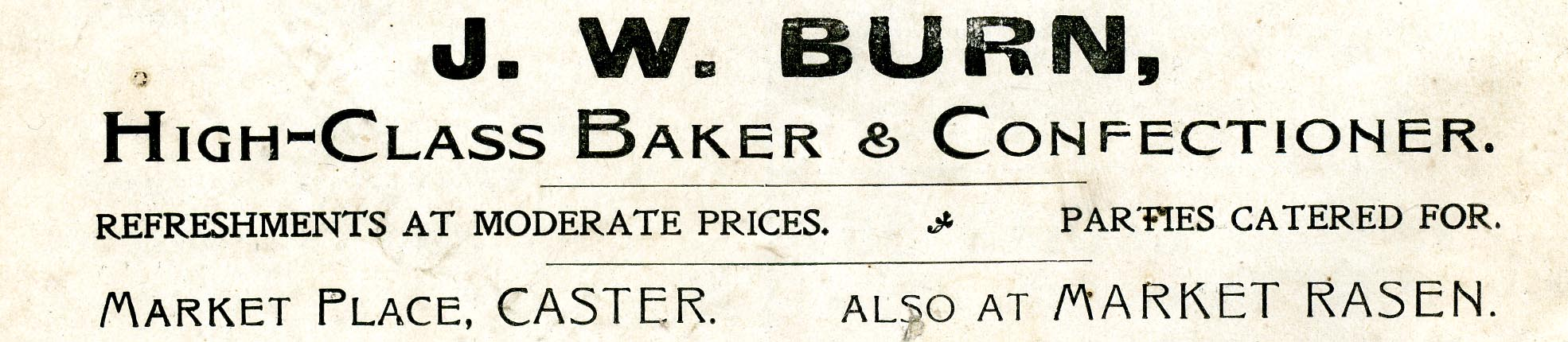 Advert 1915 J W Burn.jpg