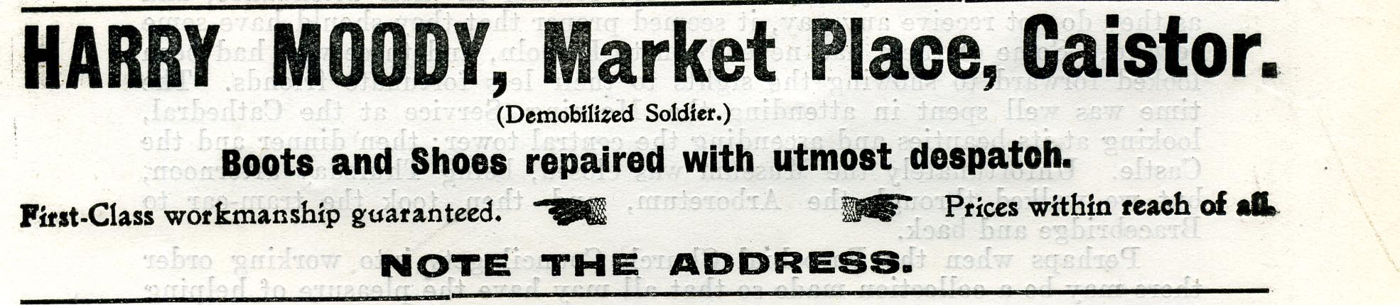 Advert 1917 approx Harry Moody.jpg