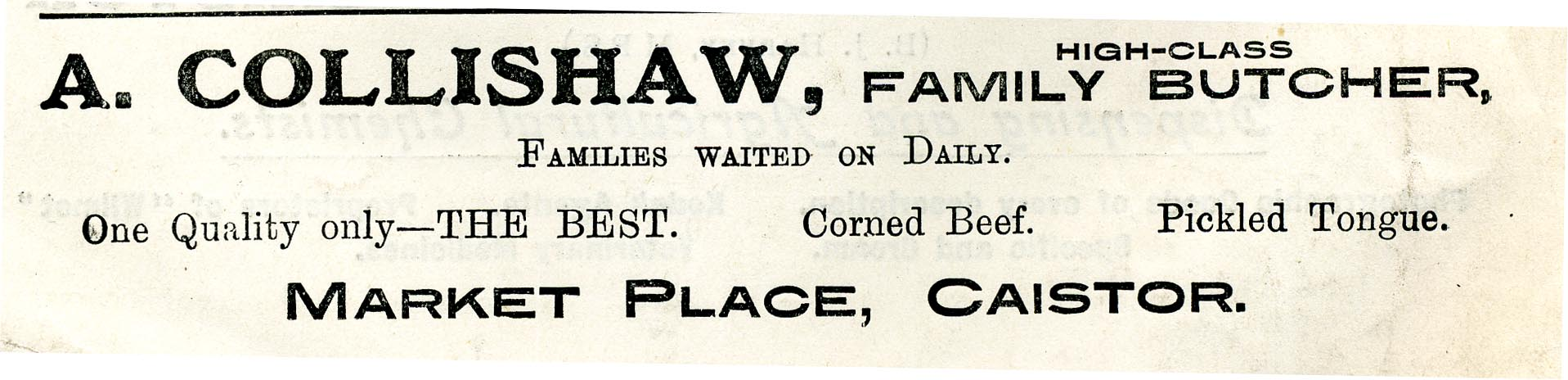 Advert 1933 Collishaw.jpg