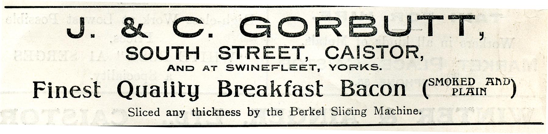 Advert 1933 Gorbutt.jpg