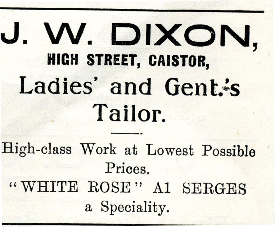 Advert 1933 JW Dixon.jpg