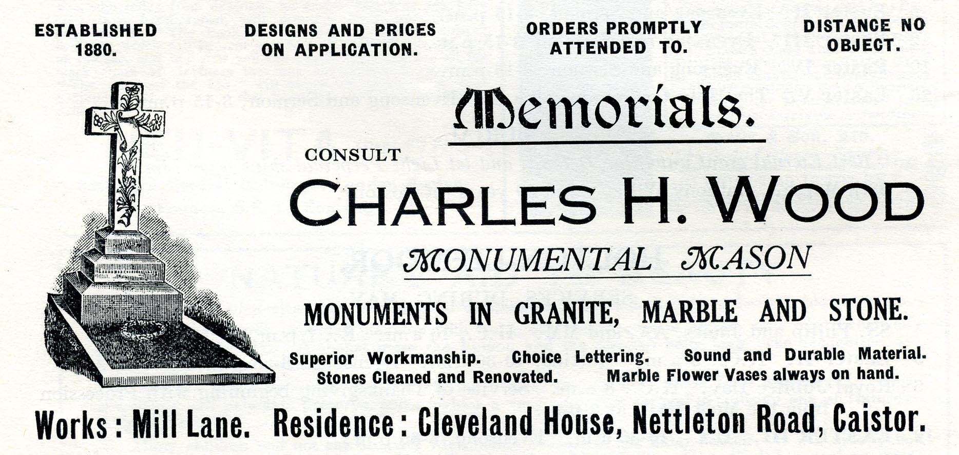 Advert 1935 Charles H Wood.jpg