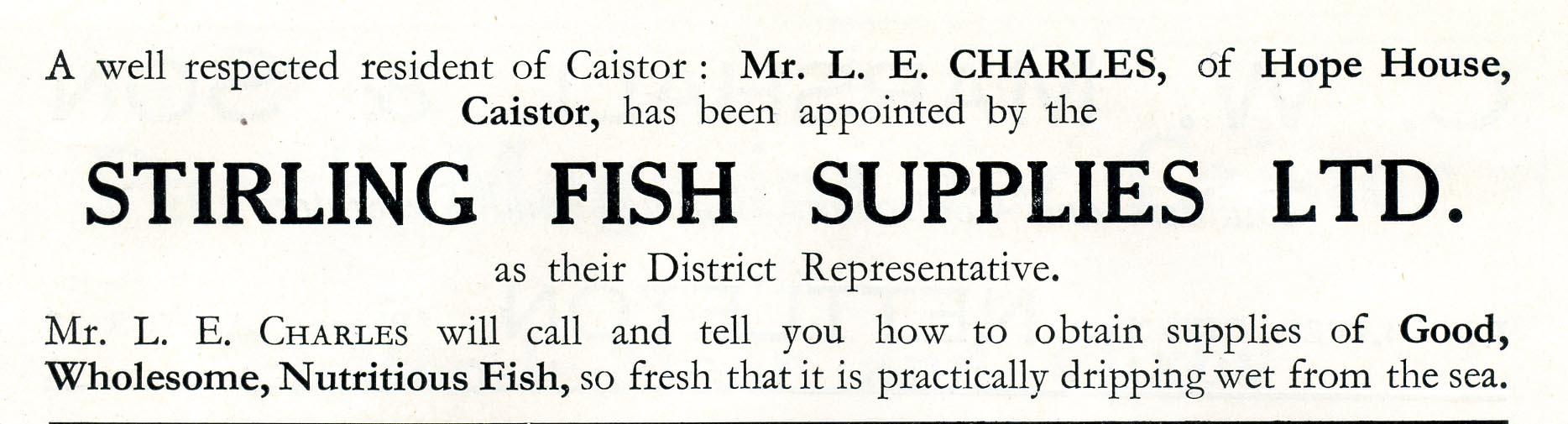 Advert 1935 L E Charles.jpg