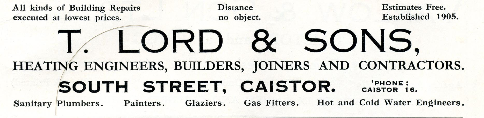Advert 1935 T Lord.jpg