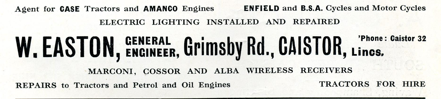 Advert 1935 W Easton.jpg